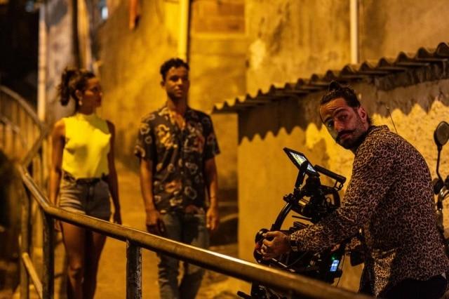 Jaafar Jackson escolheu o morro do Vidigal para ser o cenário do seu clipe de estreia