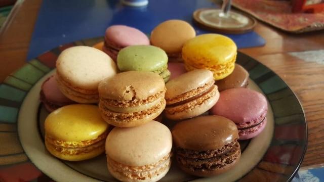 O macaron é um popular doce francês