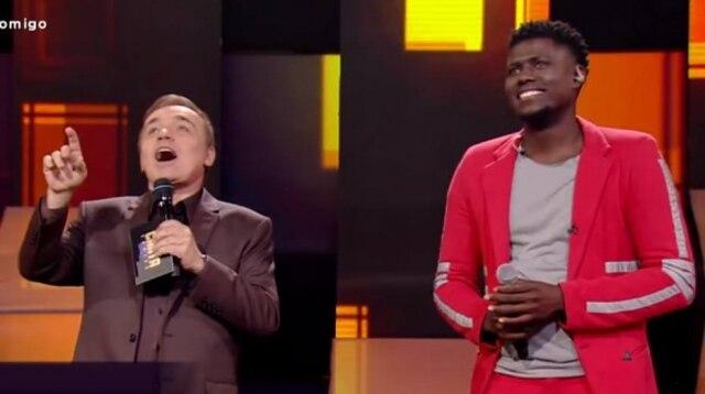 Gugu Liberato e Franson no 'Canta Comigo'
