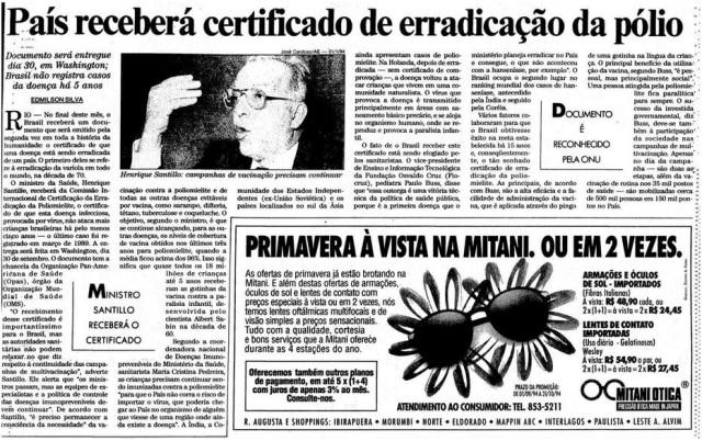 > Estadão - 15/9/1994