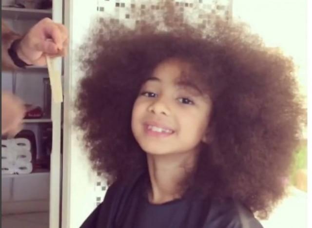 Alicia, filha de sete anos de Samara Felippo