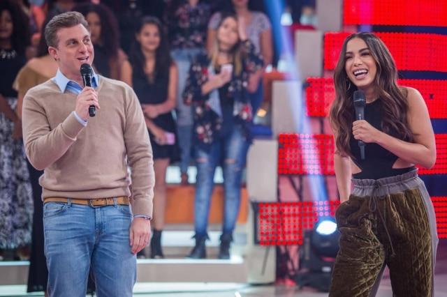 Anitta participou do programa 'Caldeirão do Huck', na Globo