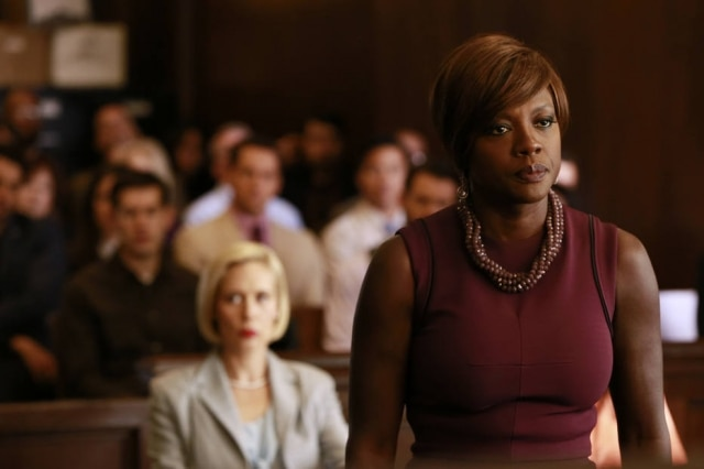 A atriz Viola Davis na primeira temporada da série 'How to Get Away with Murder'.