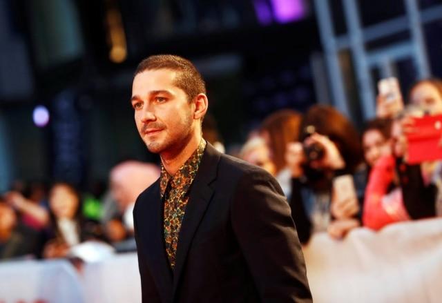 O ator Shia LaBeouf