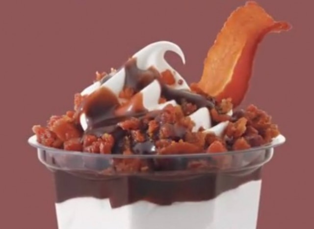 Sundae de bacon do Burger King