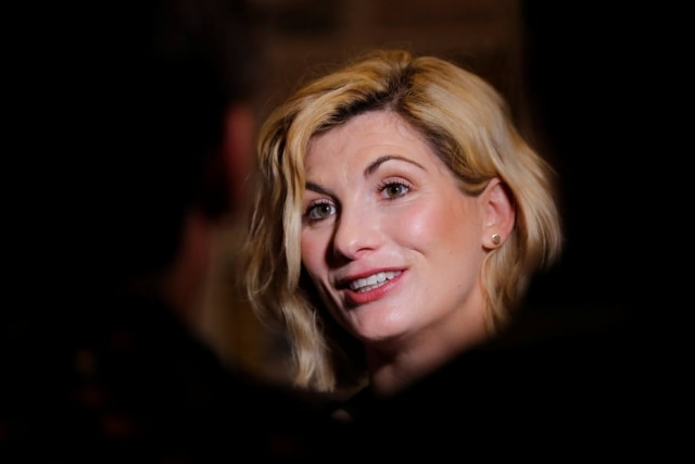 "Jodie Whittaker, a nova ""The Doctor""."