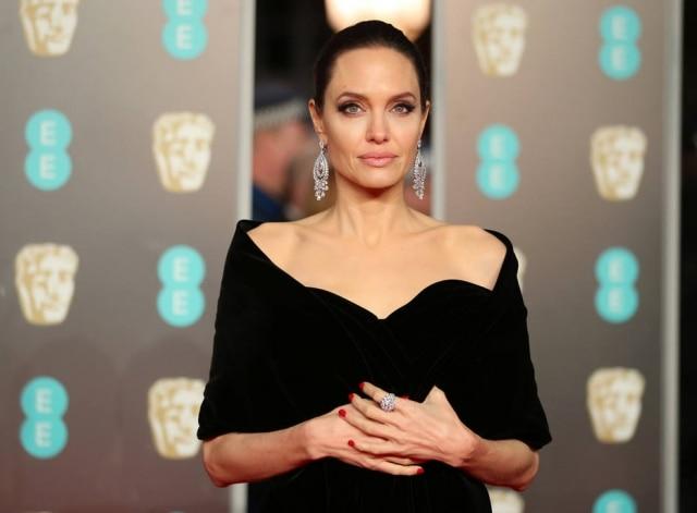 Angelina Jolie durante evento em Londres.