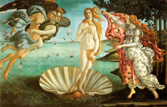 """The Birth of Venus"" por Sandro Botticelli"