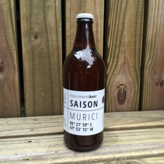 Saison de Murici, segundo rótulo da Experimento Beer