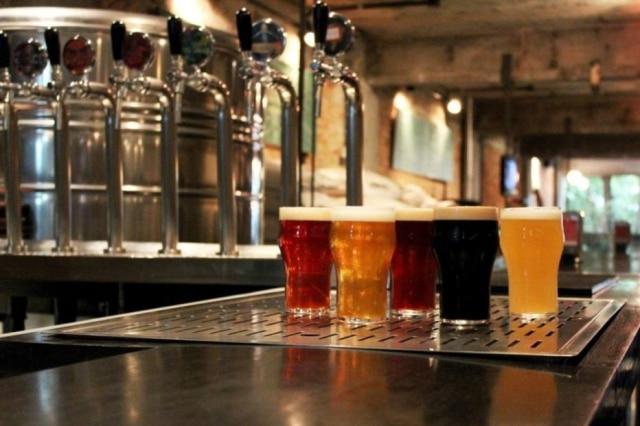 Chopes da Cervejaria Nacional, que serão vendidos em festival