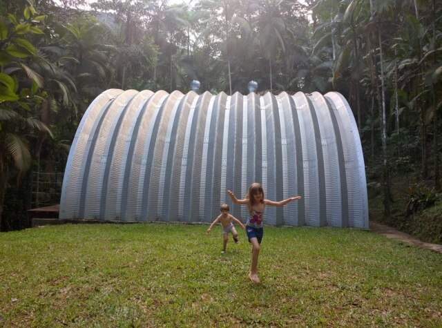 A casa Arca, projeto de Brajovic em Parati