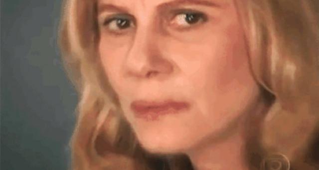 Nazaré Tedesco, vilã de 'Senhora do Destino'é estrela de memes nas redes sociais.