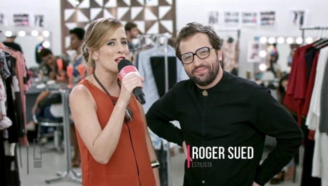 No vídeo 'Fashion Week', do canal 'Porta dos Fundos', Gregorio Duvivier é o estilista Roger Sued