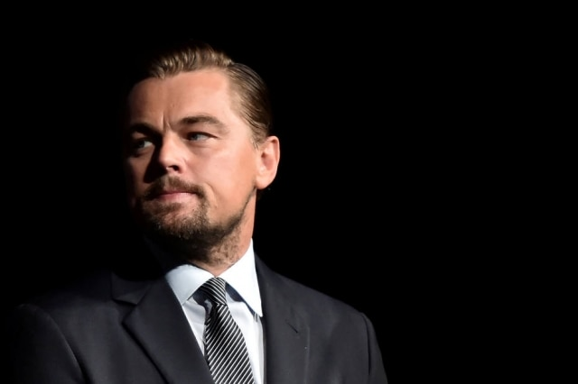 O ator Leonardo DiCaprio.