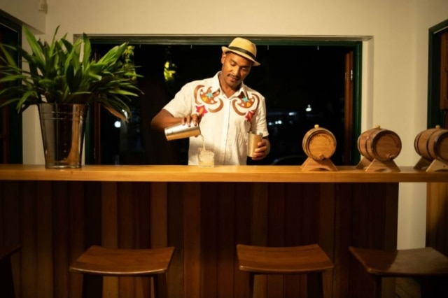 Laércio Zulu, titular das coqueteleiras