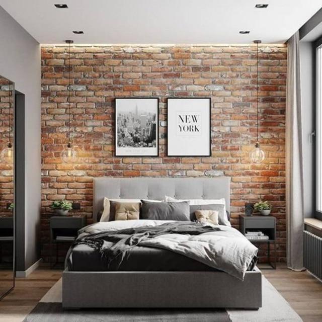 Seguindo o estilo rústico ou delicado, as paredes de tijolinhos garantem um charme a mais na decoração