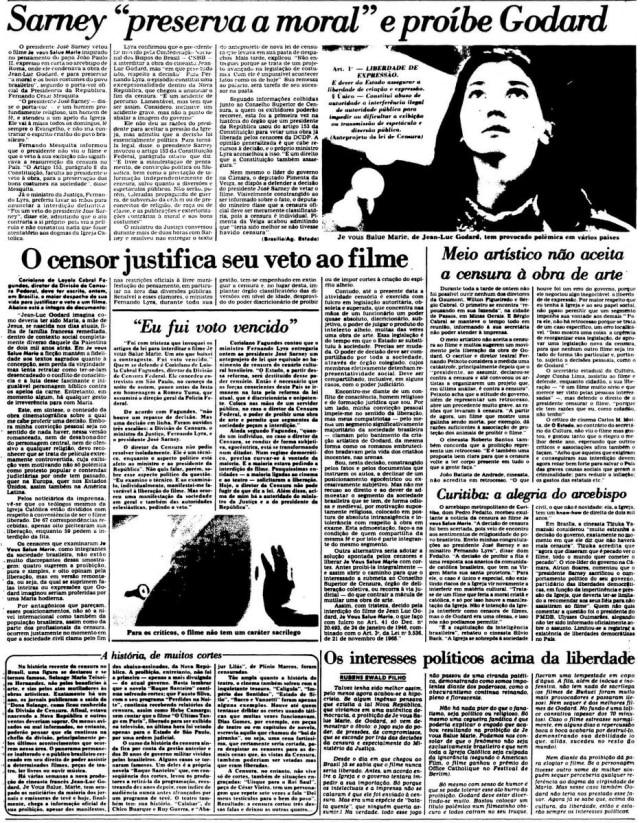 O Estado de S. Paulo - 05/02/1986