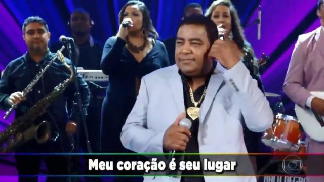 O cantor Luiz Carlos, vocalista do grupo Raça Negra