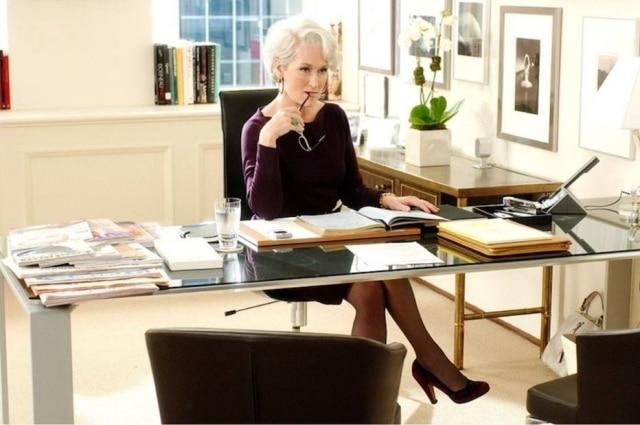 Miranda Priestly foi um dos papeis de sucesso feitos por Meryl Streep