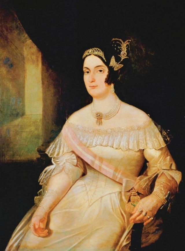 Domitila de Castro Canto e Melo, a Marquesa de Santos.