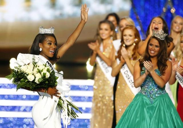 Nia Franklin, a Miss Nova York, foi eleita a Miss America 2019