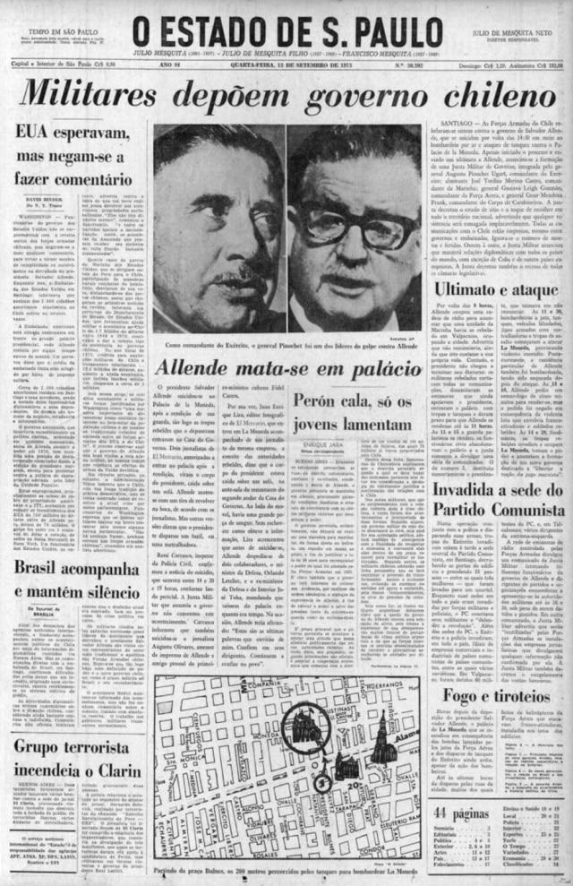O Estado de S.Paulo - 12/9/1973