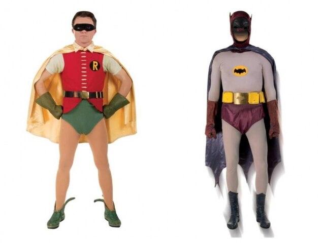 Fantasias de Robin e Batman