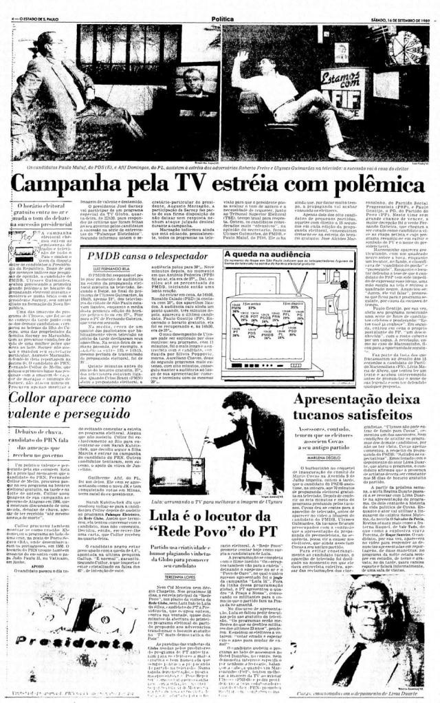 > Estadão - 16/9/1989