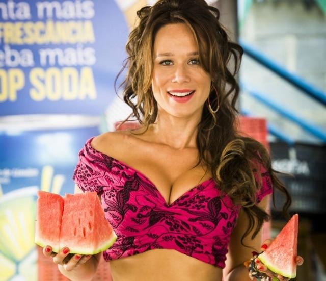 A atriz Mariana Ximenes interpretará Tancinha em 'Haja Coração!'