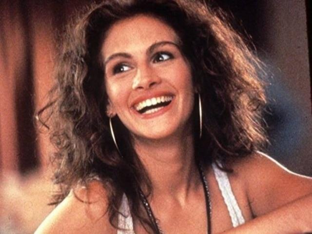 A atriz Julia Roberts é adepta do permanente no filme 'Uma Linda Mulher', de 1990