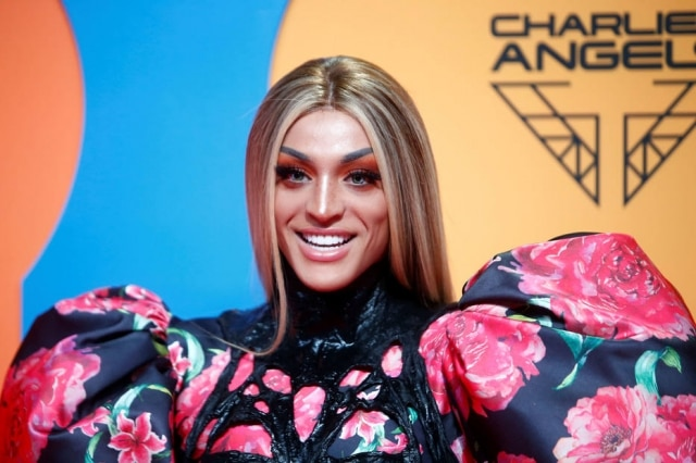 A cantora Pabllo Vittar no MTV Europe Music Awards, na Espanha