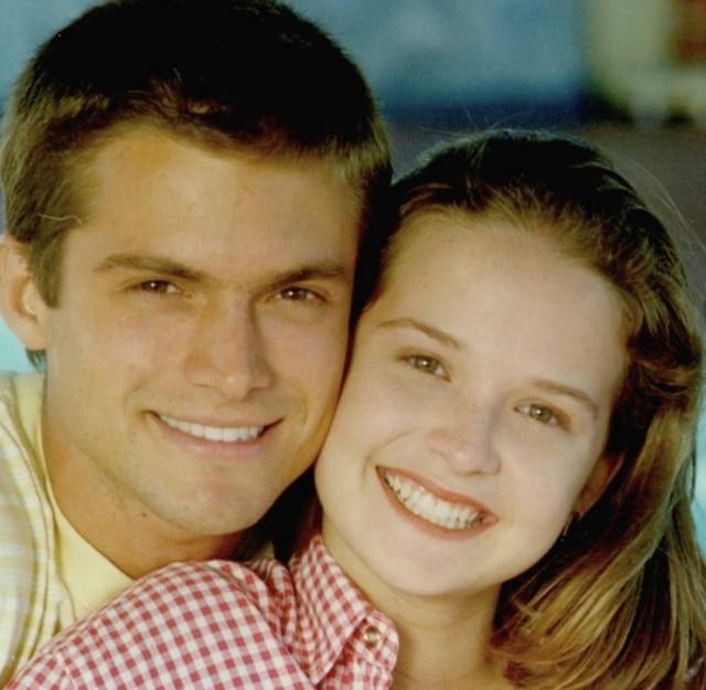 Os atoresClaudio Heinrich e FernandaRodrigues, que protagonizaram casal em primeira temporada de 'Malhação', em 1995
