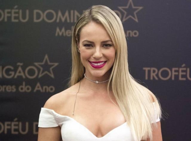 Paolla Oliveira foi vítima de vazamento de fotos íntimas, tiradas clandestinamente durante gravação de série.