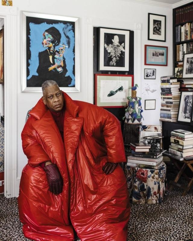 André Leon Talley trabalhou para a 'Vogue América' por 30 anos