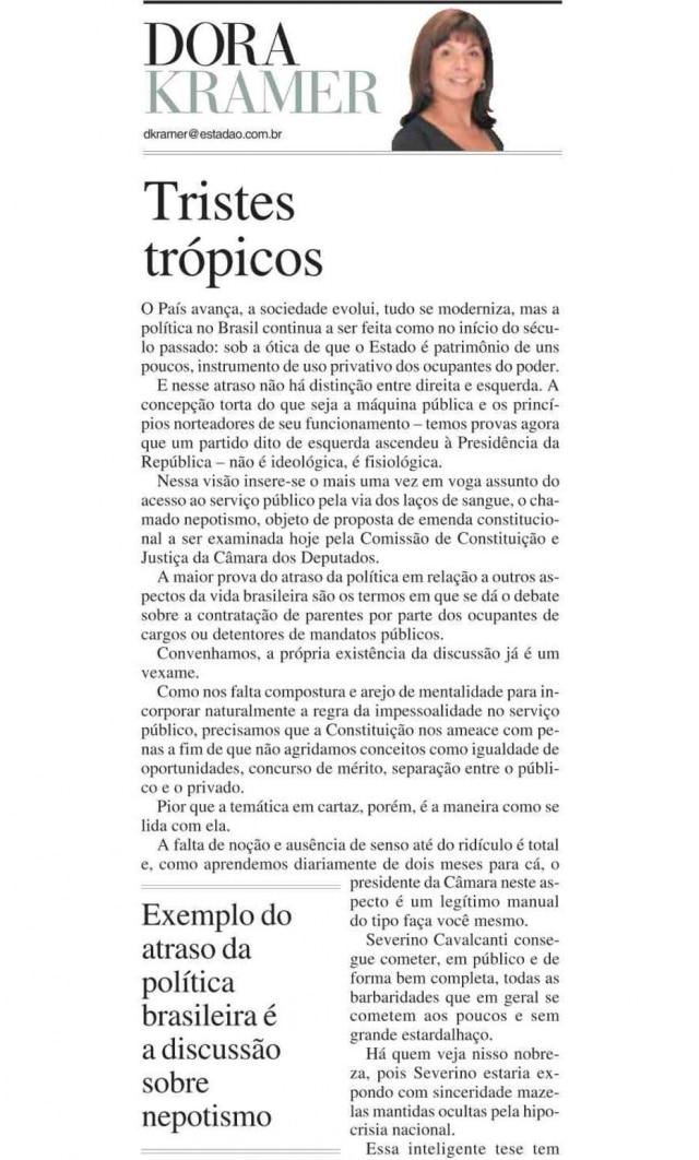 > Estadão - 13/4/2005