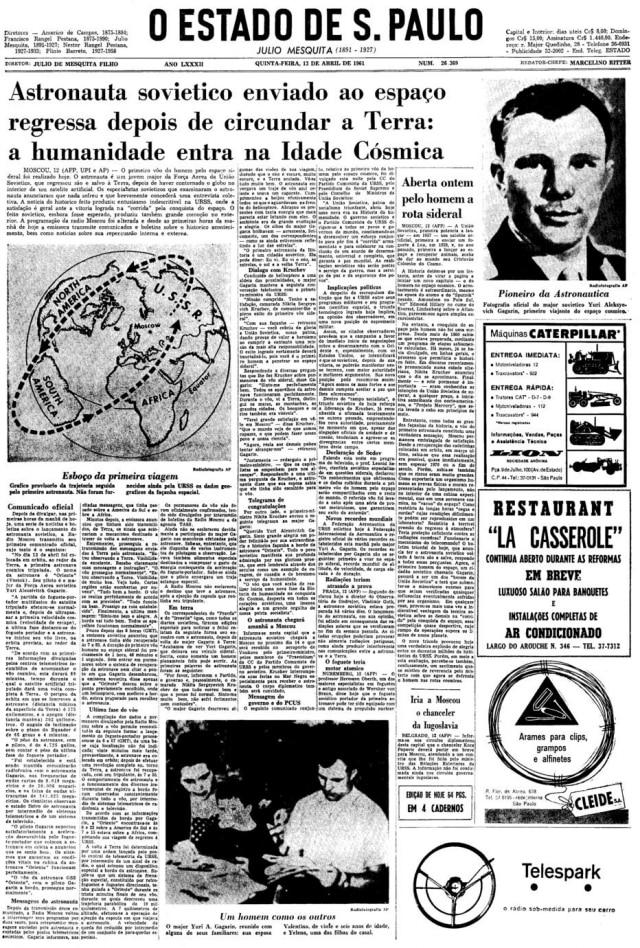 > Estadão - 13/4/1961