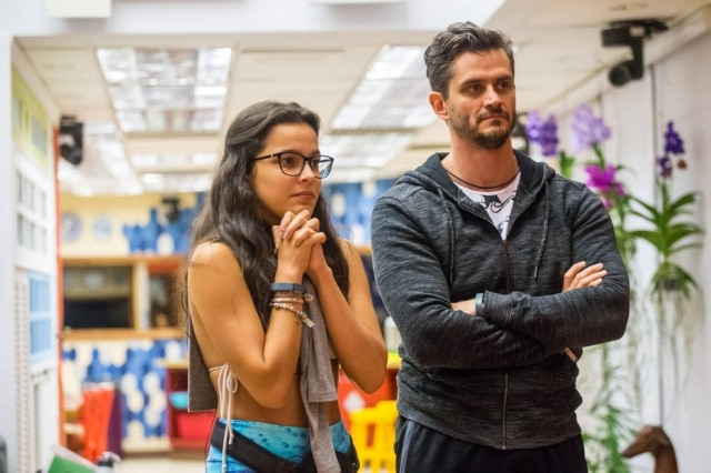 Emilly e Marcos no 'BBB 17'