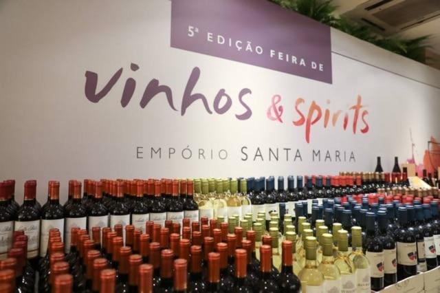 Feira de vinhos Santa Maria