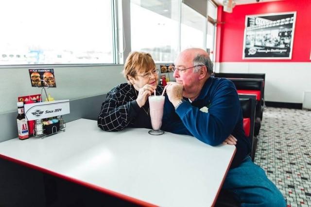 Elmer e Fran estão casados há 55 anos.