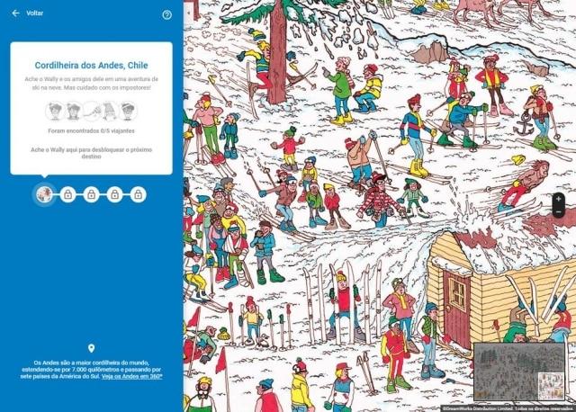 O Google convidou seus usuários a acharem o Wally no Maps em brincadeira para o Dia da Mentira