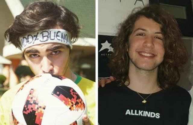 Luca Bueno e Lucas Jagger