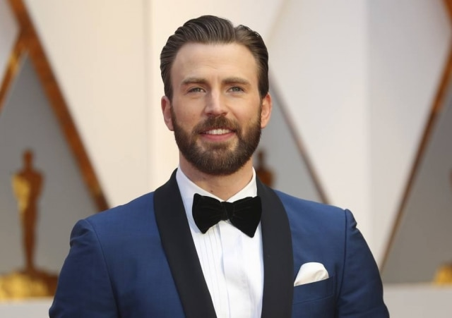 The Actor Chris Evans.