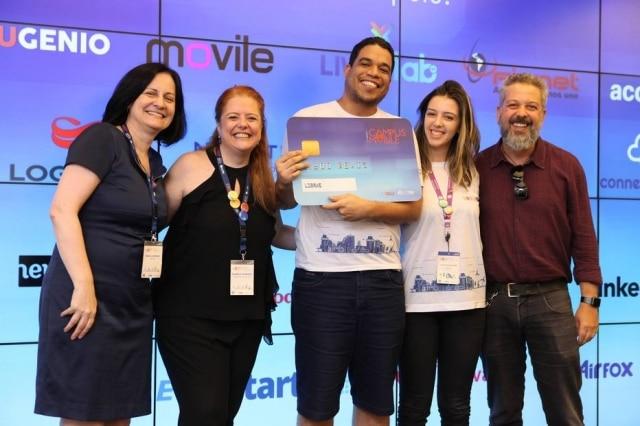 Desenvolvedores do aplicativo Charles Tradutor foram escolhidos comofinalistas do prêmio Campus Mobile.