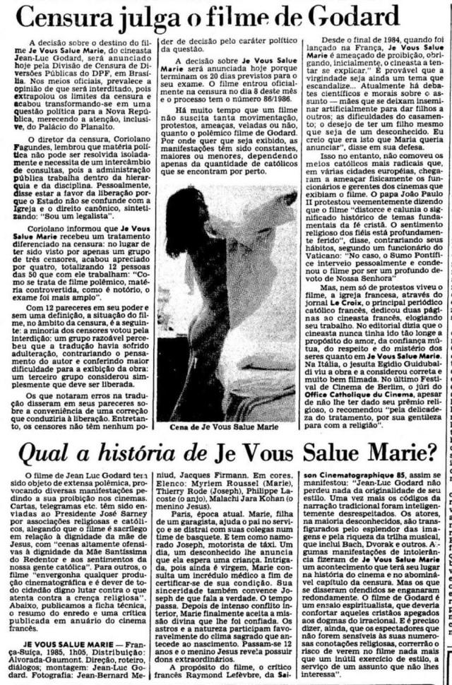 O Estado de S. Paulo - 28/01/1986