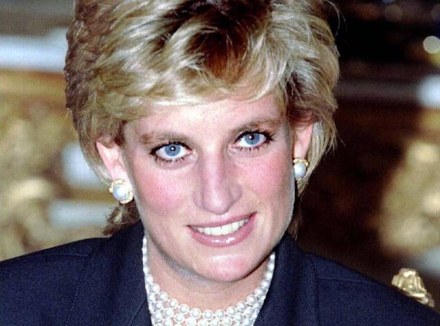 Princesa Diana em 25/9/1995.