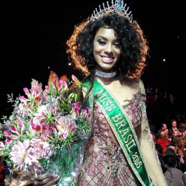 Raissa Santana venceu o principal concurso de beleza brasileira em 2016