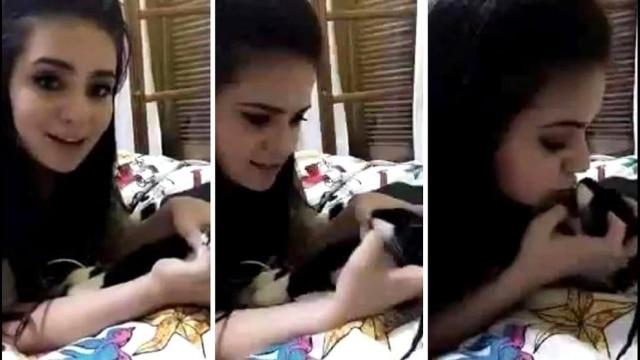 No mês passado, youtuber gerou revolta ao cuspir na boca de seu gato.