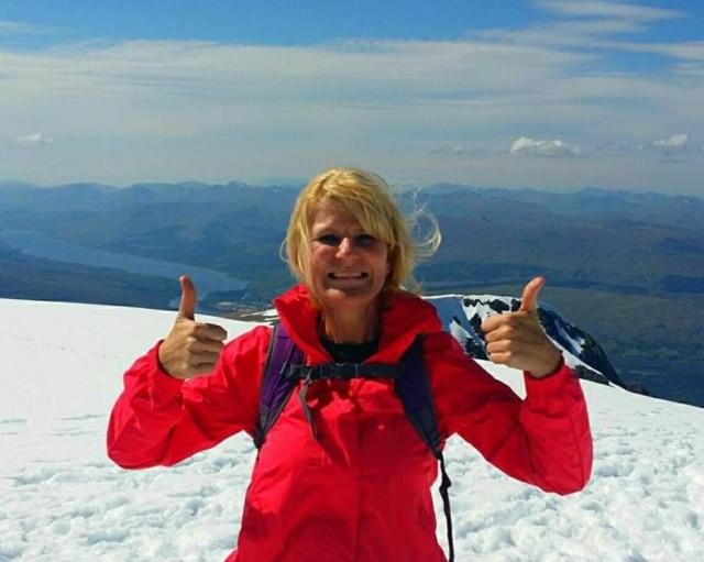 Joanne Milne passou nove meses viajando antes de perder a visão.