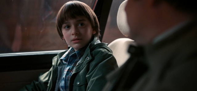 Noah Schnapp interpreta Will Byers em 'Stranger Things'.