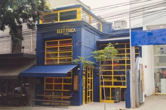 Fachada da nova unidade da Bráz Elettrica na Rua Antônio Carlos